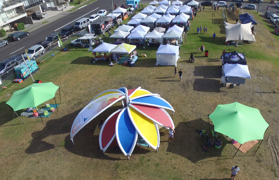 Flower Stretchstrucure event tent