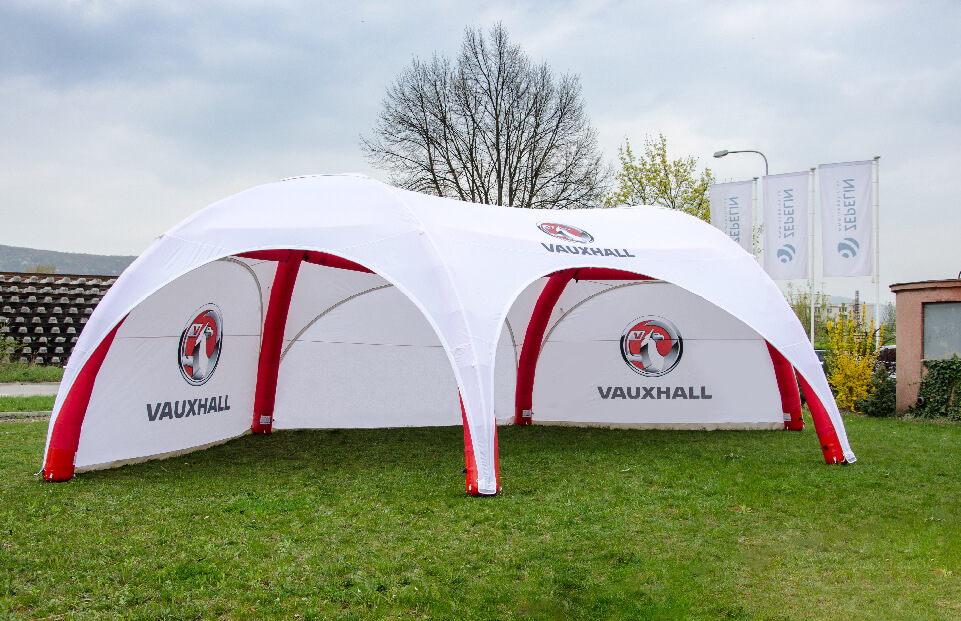 Hexa VAUXHALL event tent AXION4EVENT