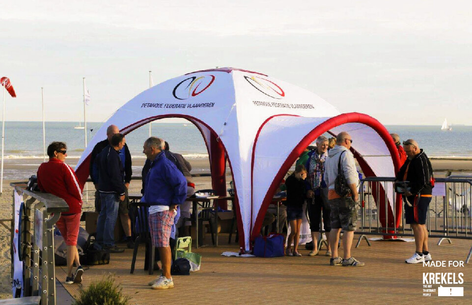Lite Krekels event tent AXION4EVENT & Sealed inflatable promotional tent for every budget