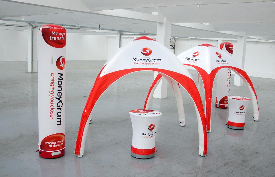 Lite Moneygran event tent AXION4EVENT
