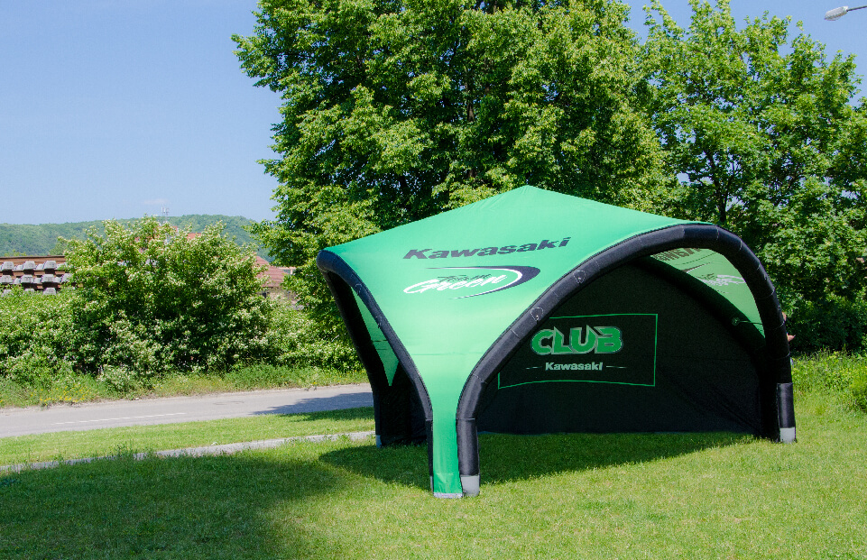 Tripod KAWASAKI event tent AXION4EVENT
